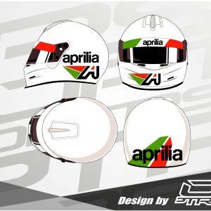 Adhesivos para casco Aprilia